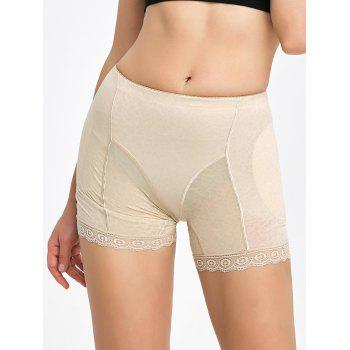 Lace Trim Padded Panties Boyshorts - COMPLEXION COMPLEXION