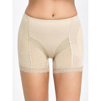 Padded Lace Insert Boyshorts