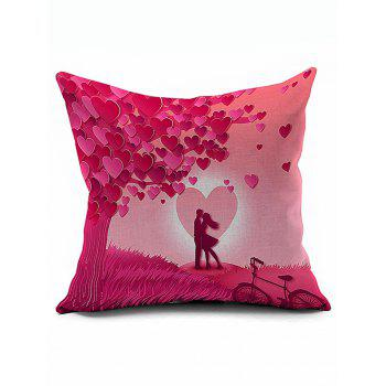 Love Couples Design Valentine Pillow Case