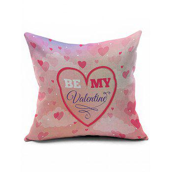 Home Decor Be My Valentine Pillow Case