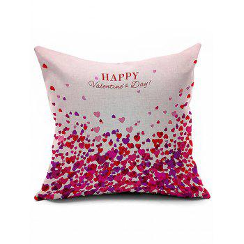 Home Decor Love Pattern Happy Valentine's Day Pillow Case