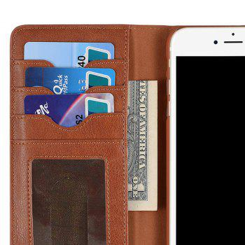 Flip Faux Leather Wallet with Card Slot Case For iPhone - FOR IPHONE 6 / 6S FOR IPHONE 6 / 6S