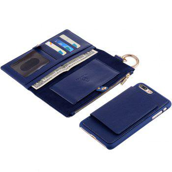 Flip Wallet Phone Case With Card Slot - FOR IPHONE 5 / 5S / SE FOR IPHONE 5 / 5S / SE