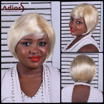 Adiors Straight Side Bang Short Synthetic Wig - COLORMIX COLORMIX