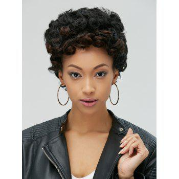 Pixie Adiors Ultrashort Fluffy Curly Synthetic Wig