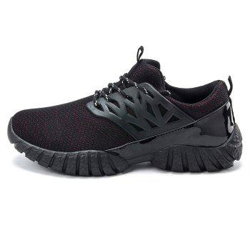 Mesh Sport Shoes - RED 44