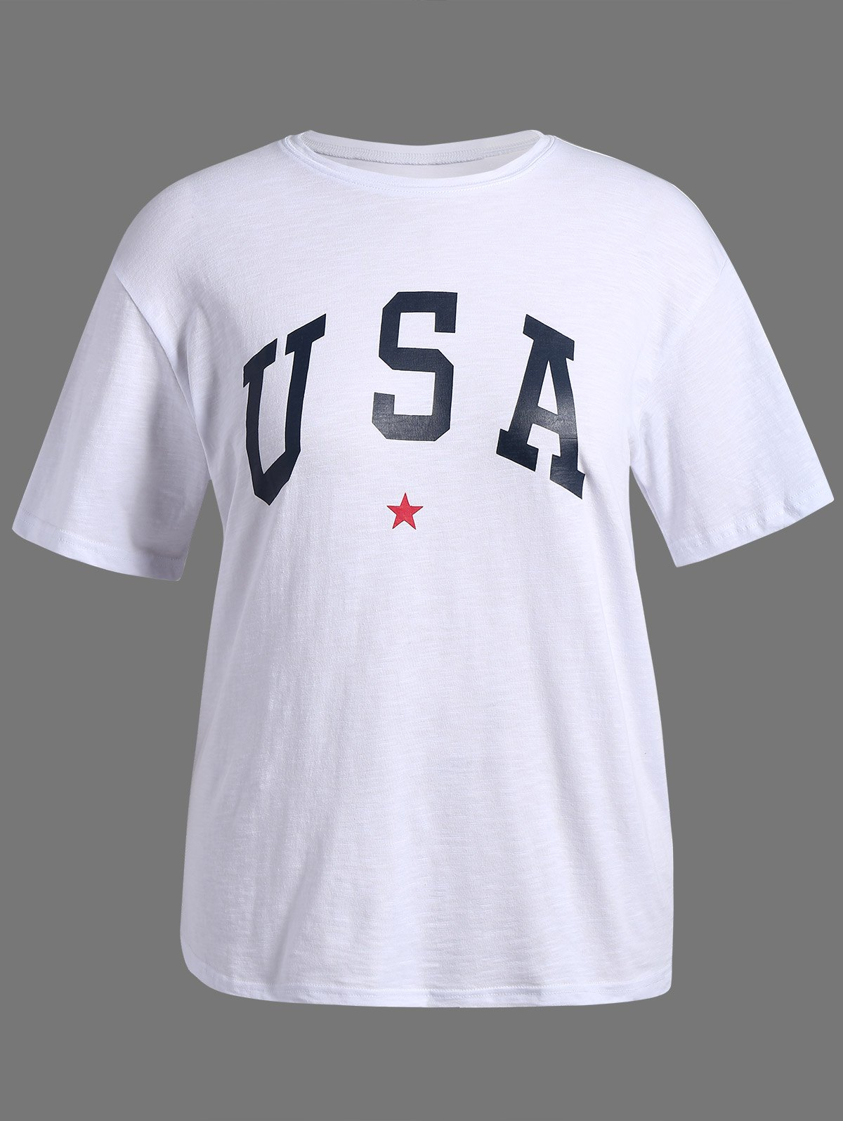 Plus Size USA Graphic T-Shirt