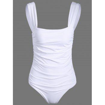 Padded Ruched One Piece Swimwear
