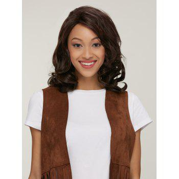 Women's Stylish Curly High Temperature Fiber Wig - COLORMIX