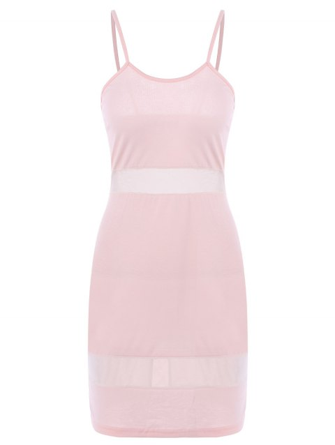Sexy Candy Color Spaghetti Strap Dress For Women