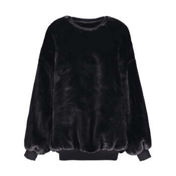 Fleece Sherpa Sweatshirt