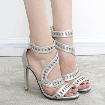 Ankle Strap High Heel Sandals