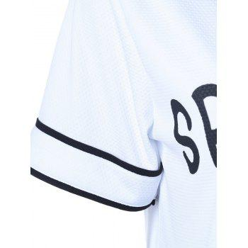 Champion Graphic Sporty Blouse - WHITE S