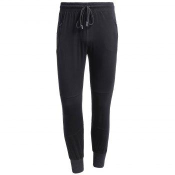 Drawstring Stretchy Jogger Pants