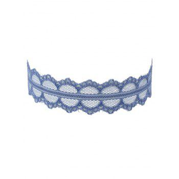 Adjustable Lace Wide Choker Necklace