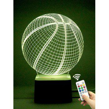 Remote Control 7 Color Changing Ball Shape LED Night Light