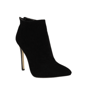 Zip Pointed Toe Ankle Boots