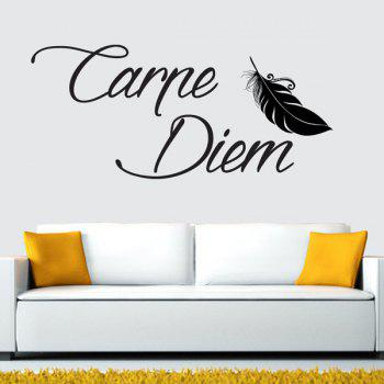 Home Decal Letters Wall Sticker