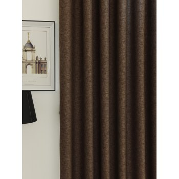 Home Decor Shading Blackout Perforated Window Curtain - Bis 100*250CM