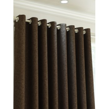 Home Decor Shading Blackout Perforated Window Curtain - Bis 100*270CM