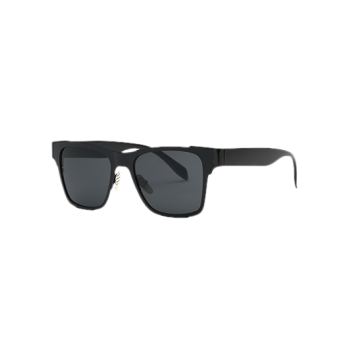 Stylish Black Trendsetter Sunglasses