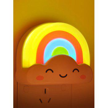 Voice Control Rainbow Bedside Desk LED Night Light - COLORFUL COLORFUL