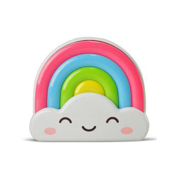 Voice Control Rainbow Bedside Desk LED Night Light -  COLORFUL