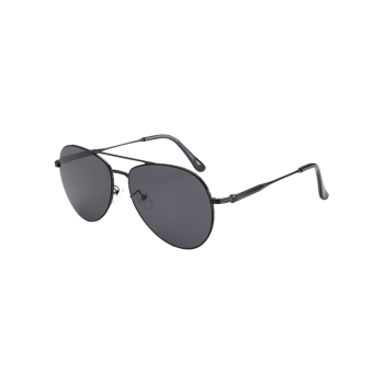 Crossbar Anti UV Metal Pilot Sunglasses