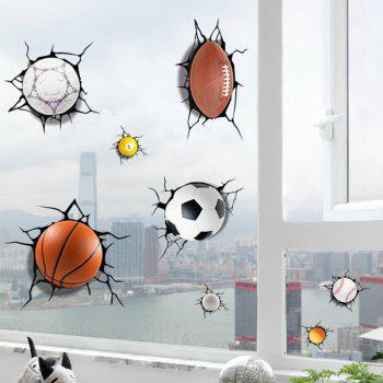 Home Decal Ball Games Wall Sticker