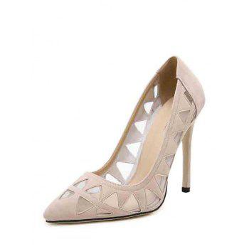 Sexy Hollow Out and Geometric Design Pumps For Women - 39 39