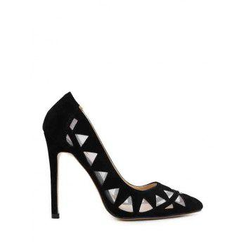 Sexy Hollow Out and Geometric Design Pumps For Women