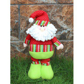 Novelty Children Gift Christmas Santa Claus Puppet Toy -  RED/GREEN