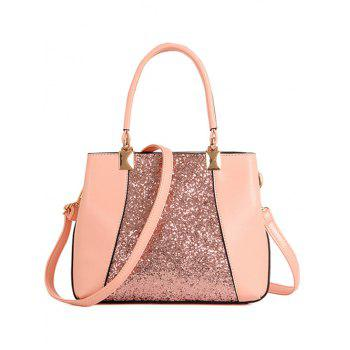 Trendy Sequins and Splicing Design Tote Bag For Women