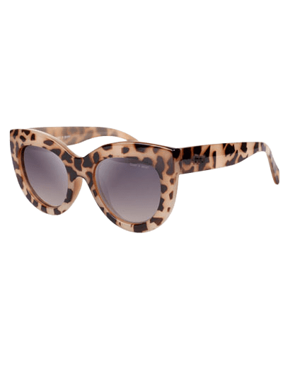 Stylish Trendsetter Cat Eye Sunglasses - LEOPARD