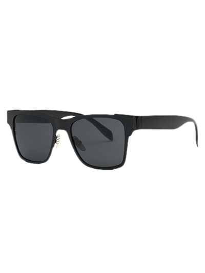 Stylish Black Trendsetter Sunglasses - BLACK