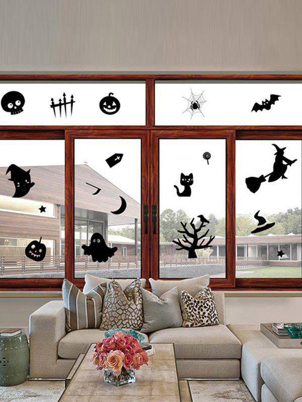 Removable Halloween Series Waterproof Room Wall Sticker ghost tree design removable room halloween wall sticker