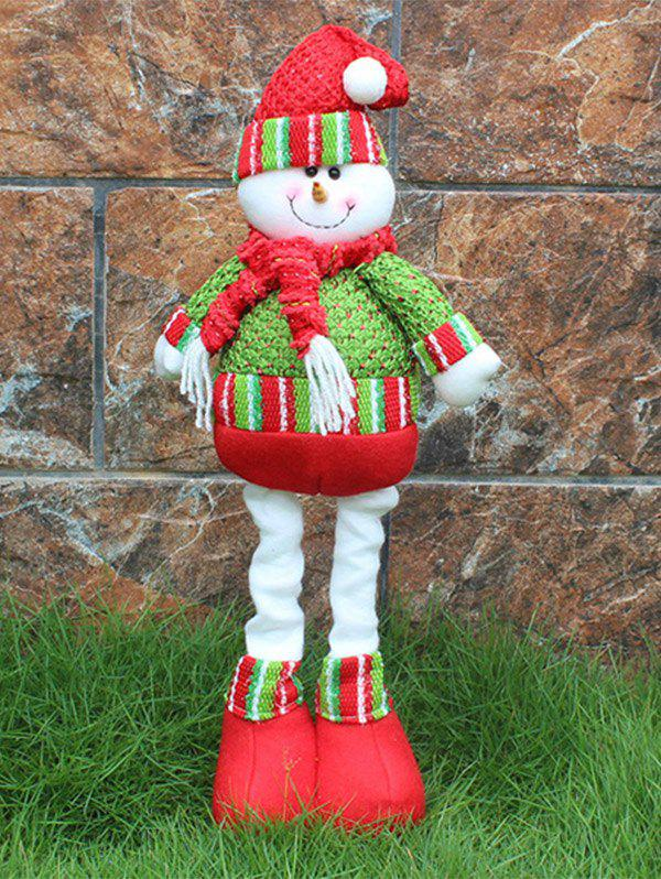 Novelty Children Gift Christmas Snowman Claus Puppet Toy free shipping 12cm new wooden cartoon candy people european and american wind puppet christmas nutcracker doll child gift
