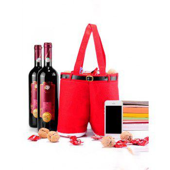Red Wine Bag Christmas Candy Gift Bag