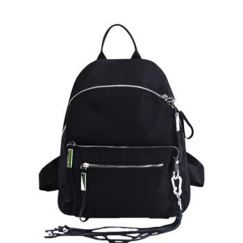 Tassels Zippers Splicing Backpack