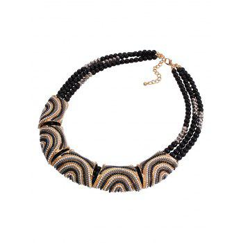 Stylish Bohemia Resin Bead Necklace For Women