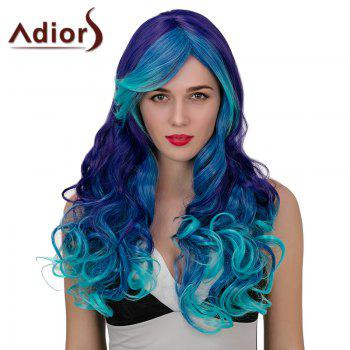 Adiors Hair Long Side Parting Wavy Synthetic Cosplay Wig