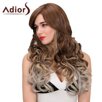 Adiors Long Colormix Side Parting Wavy Synthetic Wig