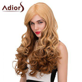 Adiors Long Side Parting Wavy Color Mix Synthetic Wig
