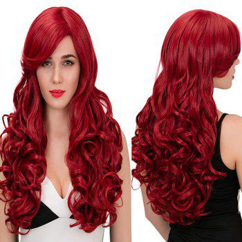 Adiors Ultra Long Side Part Wavy Synthetic Wig
