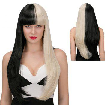 Adiors Synthetic Long Full Bang Tail Adduction Wig