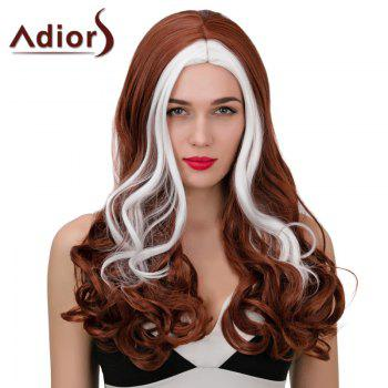 Adiors Highlight Middle Part Long Wavy Synthetic Wig