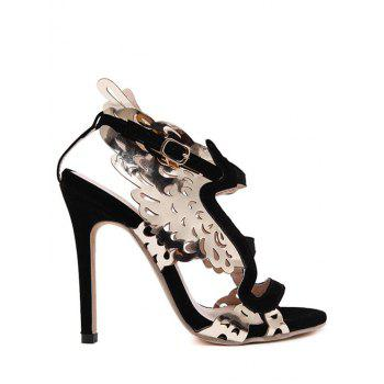 Party Wings and Stiletto Heel Design Sandals For Women