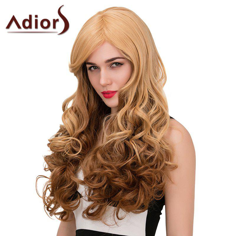 Adiors Long Side Parting Wavy Color Mix Synthetic Wig цена 2016
