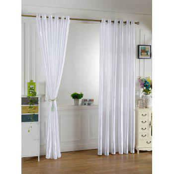 grommets ring roller blackout curtain crystal cream 100200cm