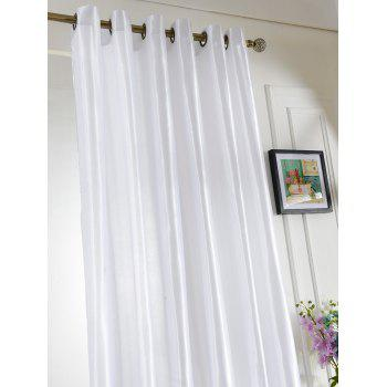 Grommets Ring Roller Blackout Curtain - CRYSTAL CREAM CRYSTAL CREAM